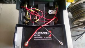 ARES go Box with agm battery and wiring