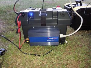 ARES go box with inverter